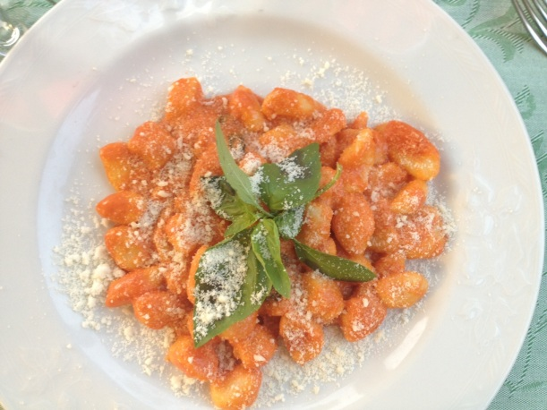 And ended with the gnocchi. Those fluffly pasta pillows were delightful.