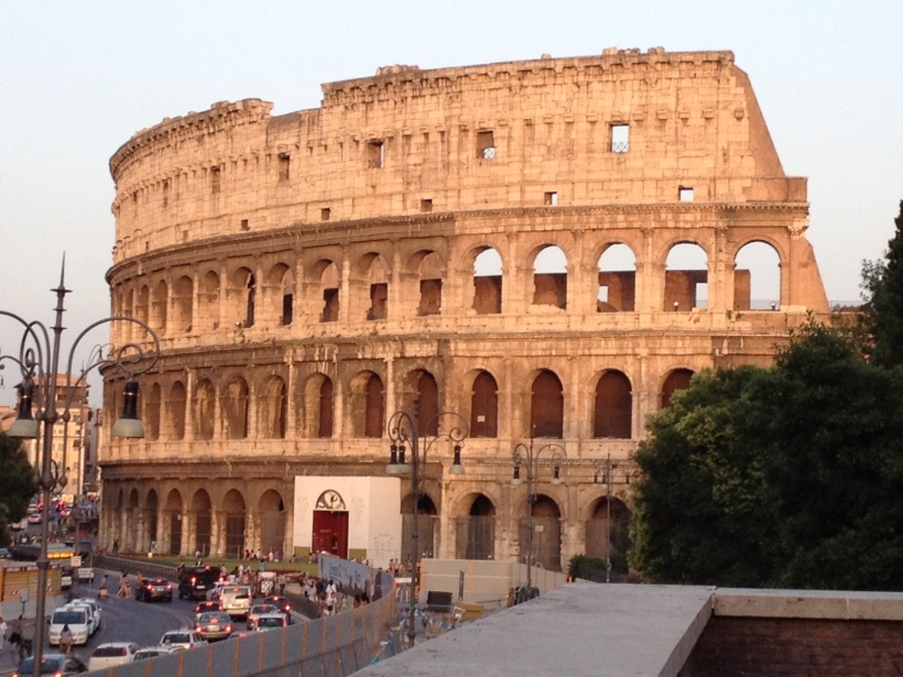 Our last day in Rome included many sites and two unforgettable meals.